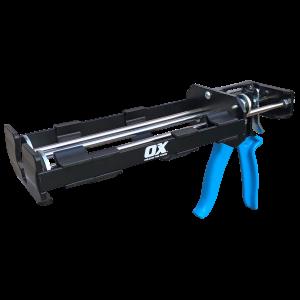 OX Pro Two Comp Applicator Caulk Gun 20 Oz 26:1 Thrust Ratio