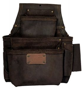 FASTENER BAG   OIL-TANNED LEATHER