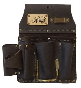 DRYWALLER'S TOOL POUCH   OIL-TANNED LEATHER