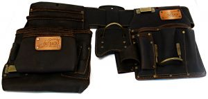 Pro 4-Piece Drywaller's Rig Oil Tanned Leather