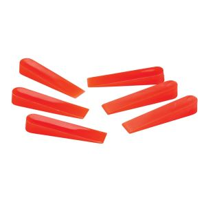 TRADE RED TILE WEDGES (500 PCS BAG)