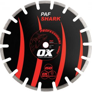 Image for OX Professional PAF Floor Saw Diamond Blade - Asphalt