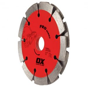 Image for OX Professional PDTP Sandwich Segmented Double Tuck Pointing Diamond Blade