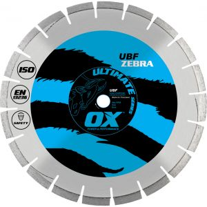 Image for OX Ultimate UBF Floor Saw Diamond Blade - Abrasive