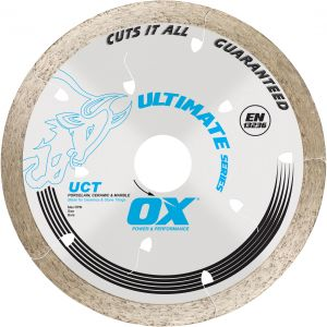 Image for OX Ultimate UCT Continuous Rim Diamond Blade - All Tiles