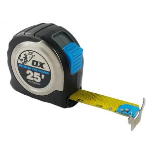 PRO STAINLESS STEEL TAPE MEASURE - 1-3/16'' TAPE