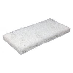 PRO SCRUB REPLACEMENT PAD - WHITE