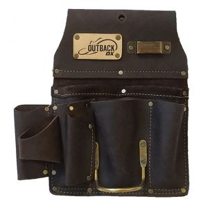 DRYWALLER'S TOOL POUCH | OIL-TANNED LEATHER