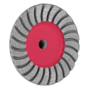 PRO PCTB 4'' TURBO CUP WHEEL - 7/8'' - 5/8 BORE