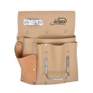 Trade Series 6 Pocket Drywall Tool Pouch, Suede Leather