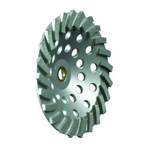 """ULTIMATE SPIRAL CUP WHEEL - 5/8"""" - 11 BORE"""