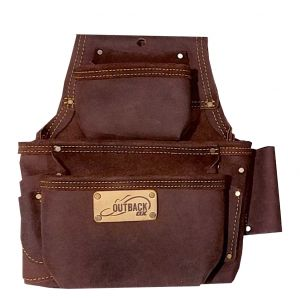 FASTENER BAG | OIL-TANNED LEATHER