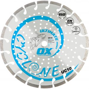 ULTIMATE UC10 CYCLONE DIAMOND BLADE | GENERAL PURPOSE/CONCRETE