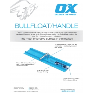 Bullfloat and Handle Information