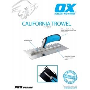California Trowel Information