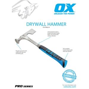 Pro Drywall Hammer Information