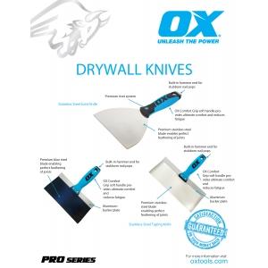 Pro Drywall Knives Information