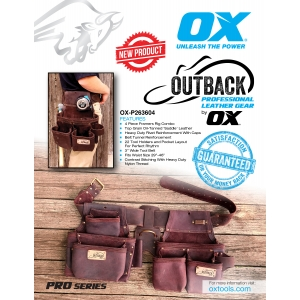 Pro Outback Leather Information