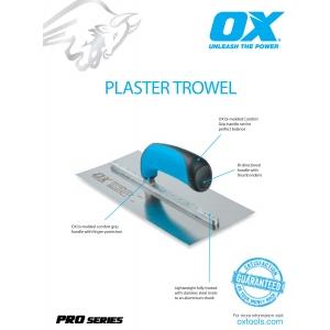 Pro Plaster Trowels Information