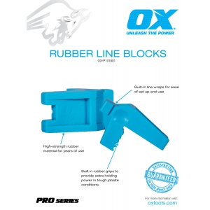Pro Rubber Block Lines Information