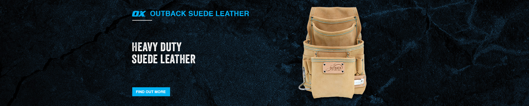 Outback Suede Leather